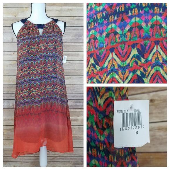 chris mclaughlin Dresses & Skirts - NWT Chris McLaughlin 8 Kaleidoscope Dress